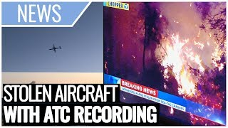 BREAKING: Employee STEALS & CRASHES Bombardier Q400 (ATC Recording Included)