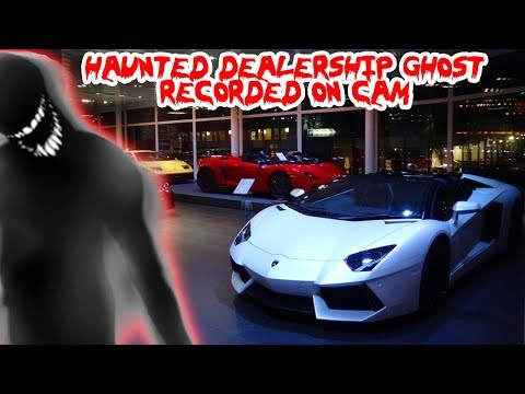 3 AM CHALLENGE IN A HAUNTED CAR DEALERSHIP! *GHOSTS CAUGHT ON CAMERA*