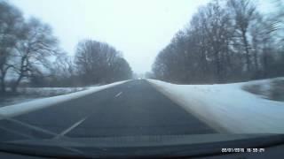 Дорога Бурштин - Насташине