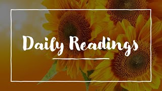 Daily Reading, 2 22 21