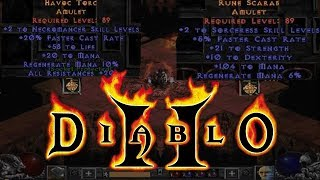 💢DIABLO 2 - CRAFTING GODLY AMULET ATTEMPT💢