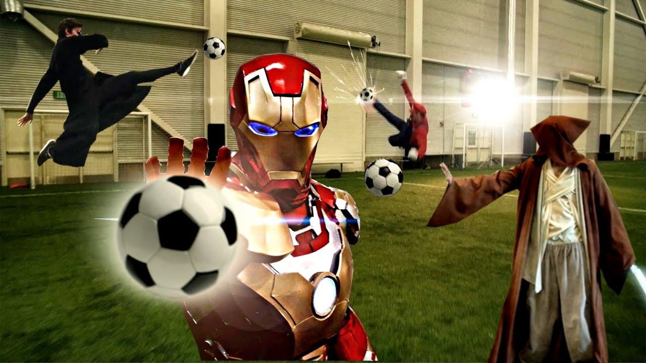 スーパーヒーローだらけのサッカーの試合が凄い!wCGとは言えどこの完成度は半端ない!