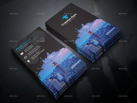 How to Design Business Card for Graphicriver