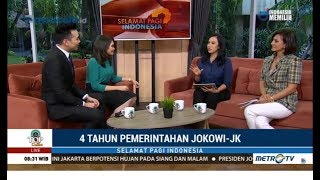 Survei 4 Tahun Jokowi-JK: Jokowi Sangat Populer di Mata Milenial & Kaum Perempuan