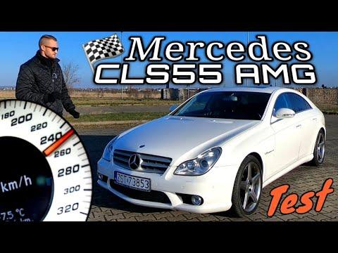 Mercedes CLS55 AMG - 250 Km/h Niczym Lekki Jogging!