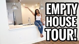 I'M MOVING!!! EMPTY TOWNHOUSE TOUR 2018 - ASHLEY DEVONNA