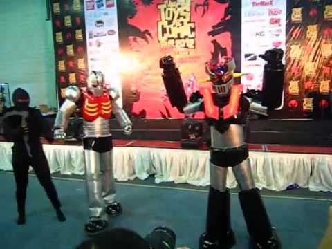 Mazinger Z VS Garada on Jakarta Toys & Comics Fair 2012