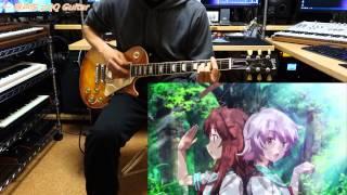 """【艦隊これくしょん -艦これ- OP】 """"海色"""" ギター弾いてみた♪"""