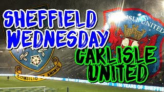 Wednesday Wonderland!! SWFC vs Carlisle United FA CUP!❄⛄💙