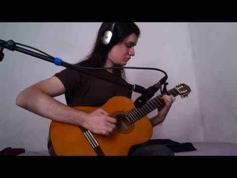 Epica - Canvas of Life (Acoustic guitar cover)