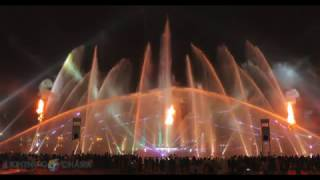 DFC Mall - Fountain, Fire and Lights Show 2016 in 4K Video - (Captured via CANON-1DX MII)