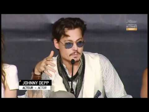 Pirates of the Caribbean: On Stranger Tides - Cannes Press Conference (1)
