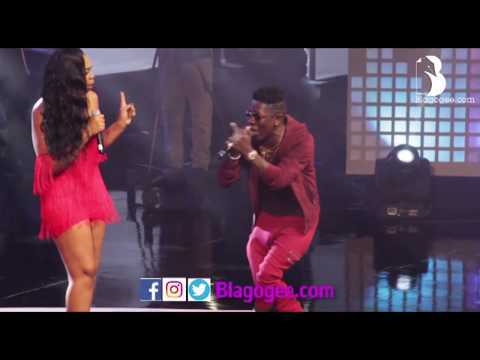 Shatta Michy Shatta Wale 'Low Tempo' Performance At Becca 10 Years Concert