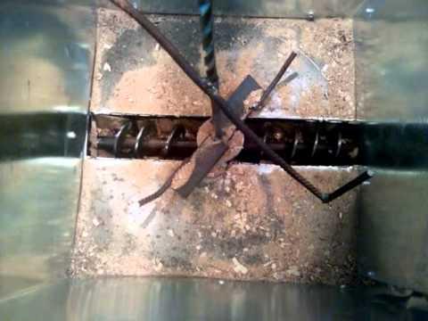 Auger For Sawdust Burnerpellets Or Wood Chip