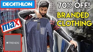 SHOPPING VLOG! Branded clothing at discount for men, grab now!