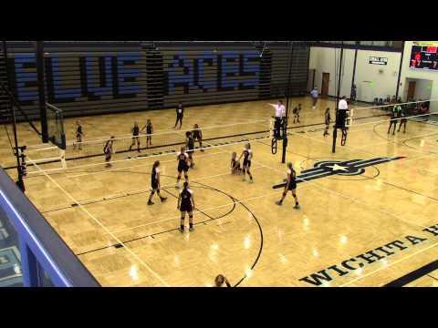 Robinson Middle School vs CMA Christa McAuliffe Academy 11/8/14 2014 Wichita part 3