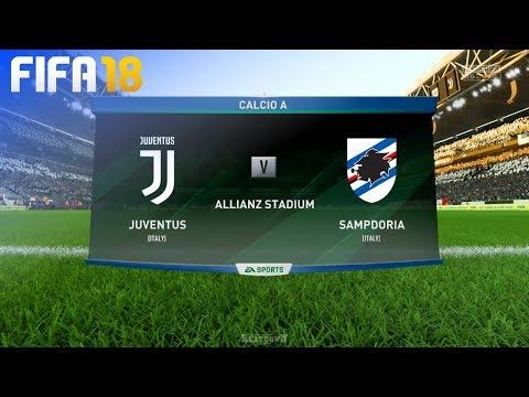 FIFA 18 - Juventus vs. Sampdoria @ Allianz Stadium