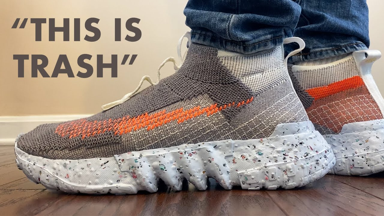 The NIKE SPACE HIPPIE is TRASH... but NOT!