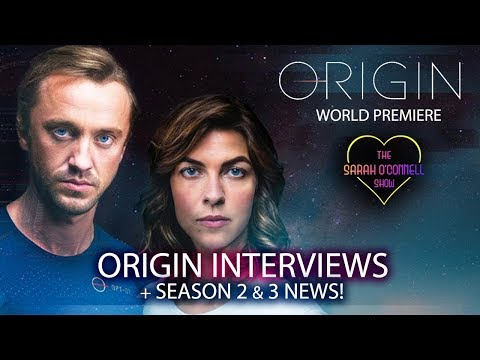 Origin World Premiere Interviews - Tom Felton, Natalia Tena. Origin Season 2 and 3 News!