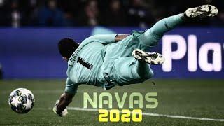 Keylor Navas 2019/20  Best Diving Saves  PSG / Real Madrid  HD