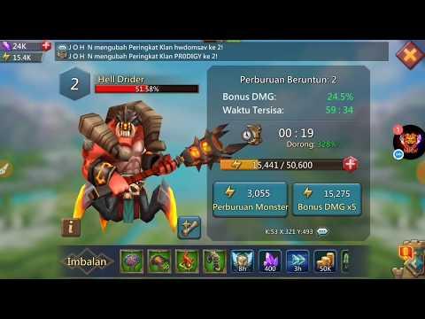 Monster Hunting [ MRH ] Guild | Lords Mobile