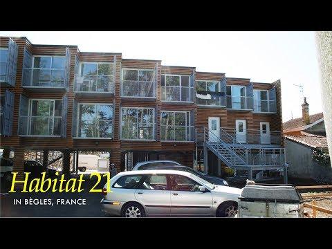 Habitat 21: Container Housing Bègles France- Kiha Conception