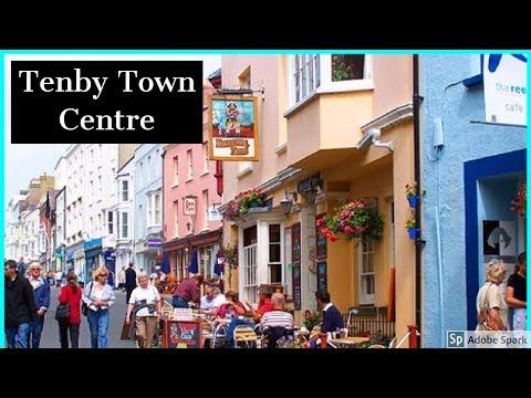 Travel Guide Tenby Town Centre Part 2 Pembrokeshire South Wales UK