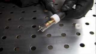 CK WORLDWIDE CLEAR GAS SAVER PYREX CUP LENSE ON LONGEVITY 200SX WP-26 TIG TORCH SETUP REVIEW PART 1