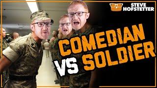 Comedian vs  Soldier - Steve Hofstetter