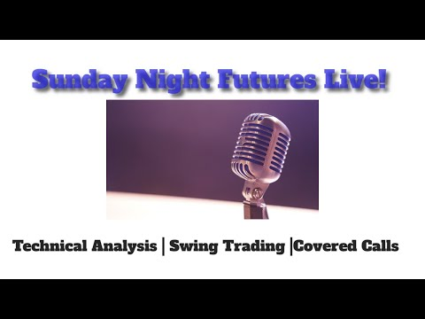 Sunday Night Stock Charts Live! | Gold Silver Iran Trade