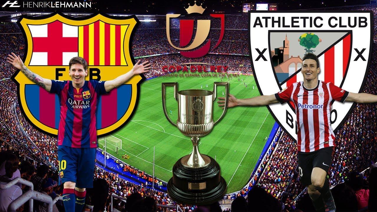 FC Barcelona vs Athletic Bilbao 3-1 Copa del Rey (27/1 ...