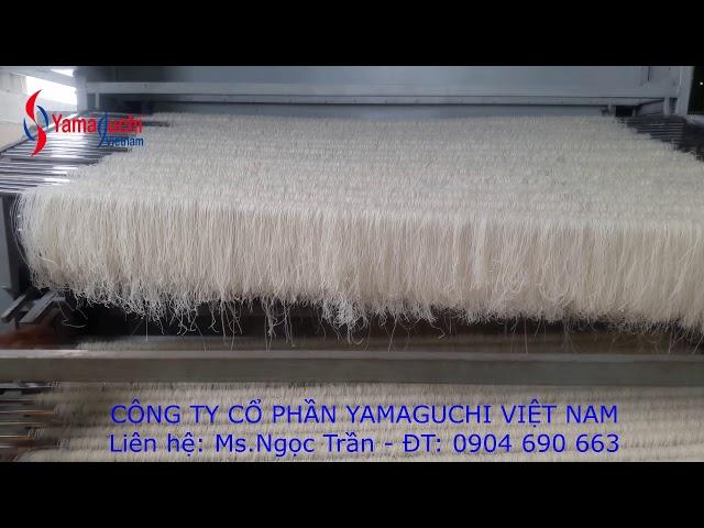 Hệ thống sấy bún, phở khô 1-5 tấn/ ngày Yamaguchi Việt Nam