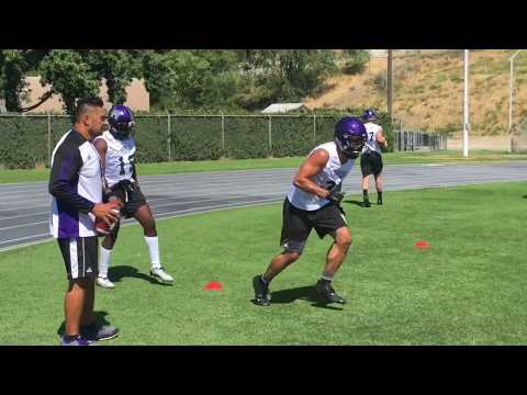 Weber State football 2017 first practice