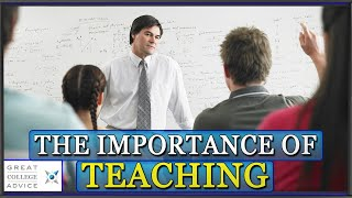 How Important Is Teaching?  Ask About Faculty Teaching Loads