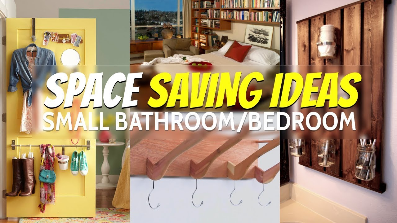 10 Space Saving Ideas Small Bathroom And Bedroom (Re Edited)
