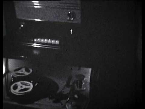 Musiktruhe 60er Jahre Schmalfilm