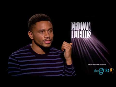 "Nnamdi Asomugha talks about how race and mass incarceration work together in ""Crown Heights"""