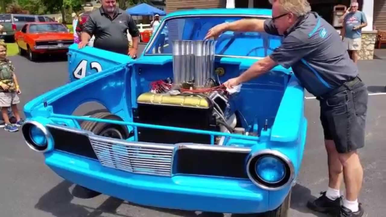 Richard Petty S 43 Jr Drag Car 1965 426 Hemi Barracuda Youtube