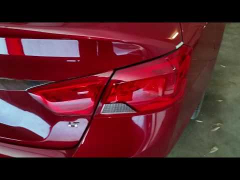 2014-2018 GM Chevrolet Impala - Testing Tail Lights After Changing Burnt Out Light Bulbs - Brake