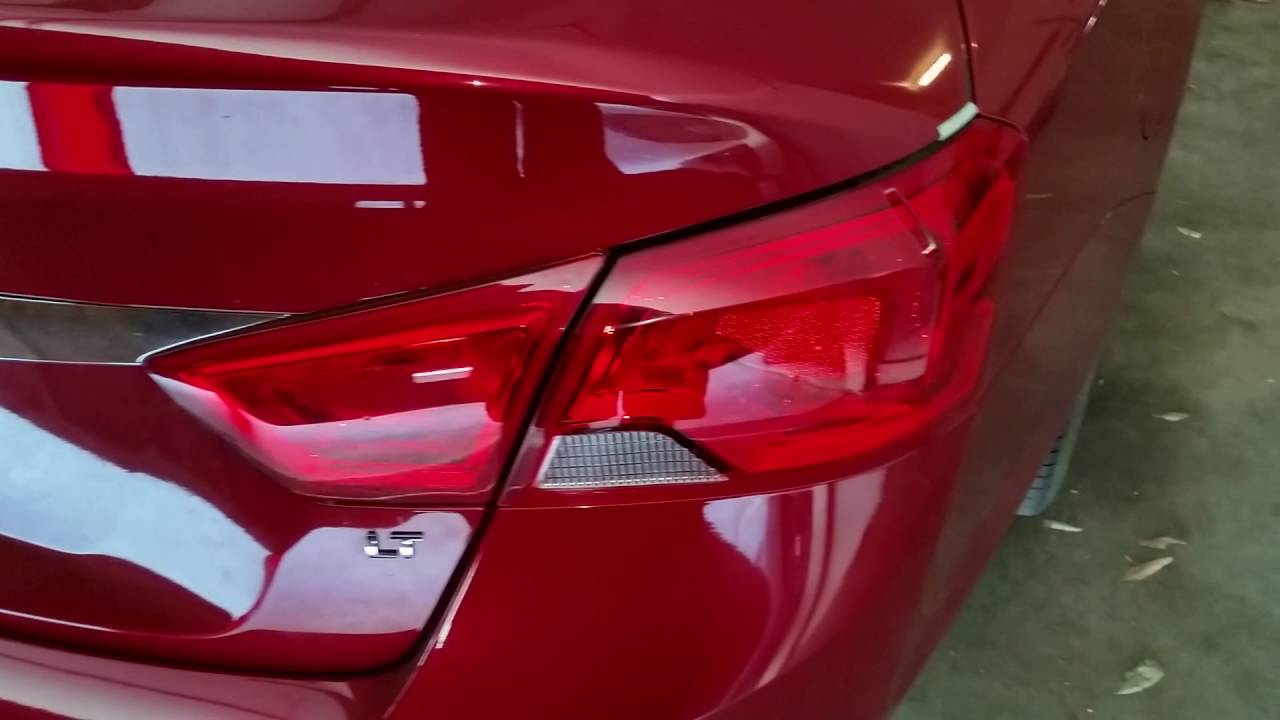 2014 2018 Gm Chevrolet Impala Testing Tail Lights After