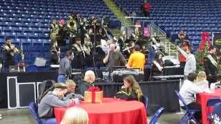 WPLR Toy Drive - Jonathan Law High School Marching Band - December 05, 2014