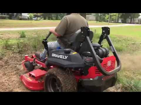 Repeat 2018 Gravely ZT HD 48 - Blades/Deck Details & Yep