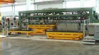 Stainless steel sheet stacker - RIZZI