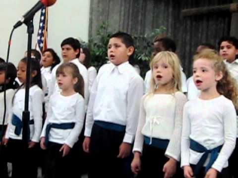 Vacaville Adventist School Thanksgiving Program 2