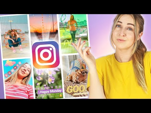10 Creative Instagram Story Ideas - Using ONLY The INSTAGRAM APP! 2019