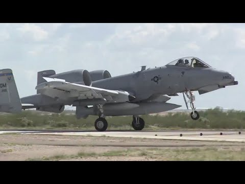 354th Fighter Squadron Returns from Deployment