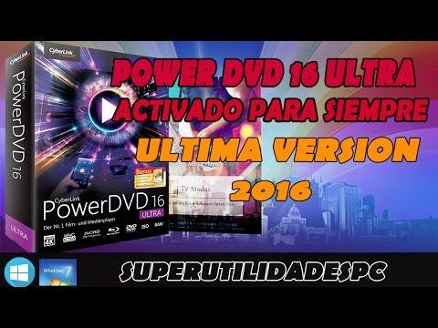 Cyberlink Power DvD Ultra v.16 + Activacion Permanente Mega
