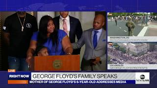 roxie-washington-mother-george-floyd-daughter-1st-public-comments