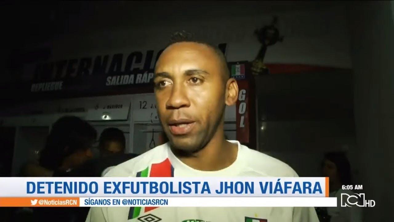 Capturan al exjugador de la Selección Colombia Jhon Viáfara por narcotráfico