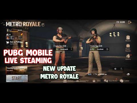 pubg-mobile- -new-erangel-metro- -metro-royale-pakistan- -live-streaming- -urdu